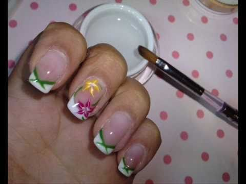 Spring Gel Color Nails Primavera Colorida En Uñas De Gel