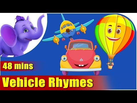 Vehicle Rhymes - Best Collection of Rhymes for Children in English