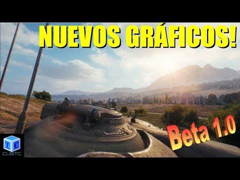 World Of Tanks Español: Nuevos Gráficos! Beta 1.0