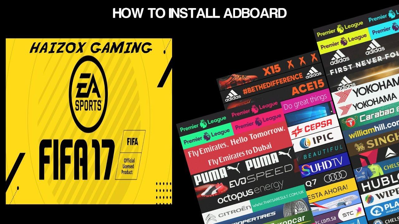 How To Install Adboard (FIFA 14)