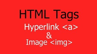 Gambar cover How to Use HTML Hyperlink and Image Tags for website - Hindi/Urdu