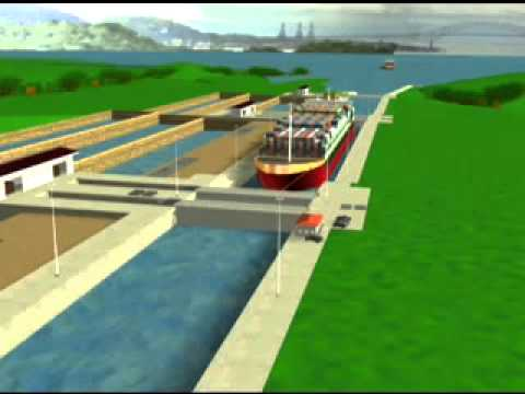 The new Panama Canal - animation