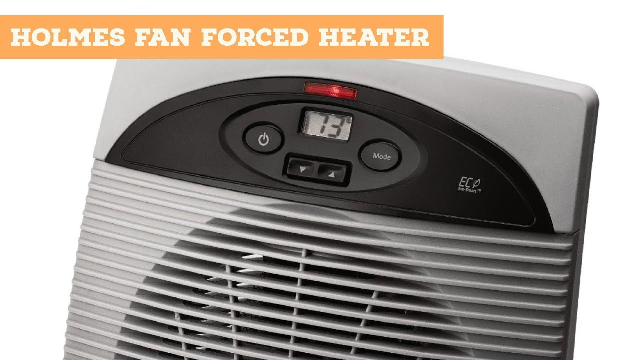 Holmes Eco Smart Heater Review Fan Forced Heat Space Office Under Desk Unboxing