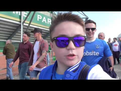 Portsmouth v Plymouth - Play offs 2016 - fournilwrittenalloverit