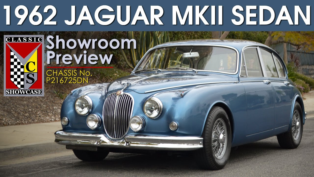 1962 Jaguar Mark II 3.8 Sedan (Right Hand Drive) - Preview & Walk-around Tour