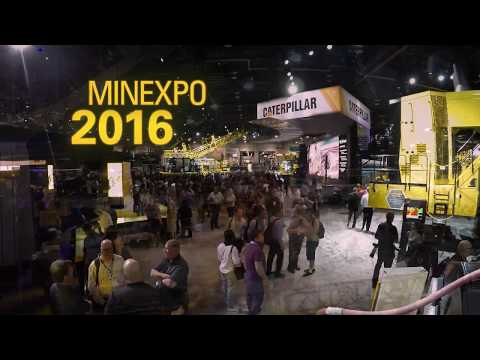 Caterpillar at MINExpo 2016
