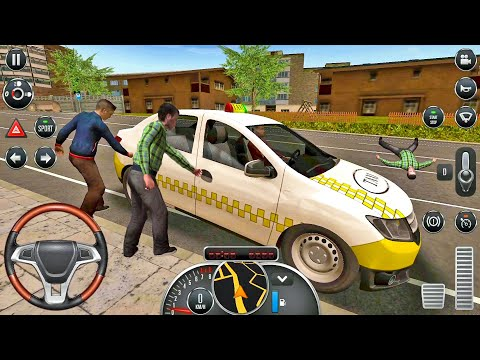 Taxi Sim 2016 #33 - Farting Car! Taxi Game Android Gameplay