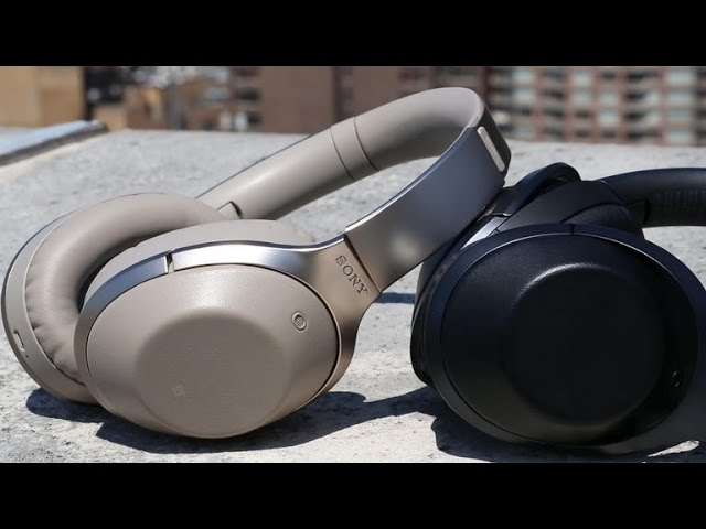 Sony's MDR-1000X is one high-tech wireless noise-canceling headphone