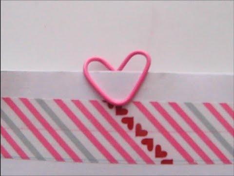 Heart Paper Clip tutorial