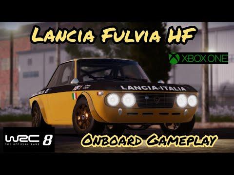 WRC 8/Lancia Fulvia HF/Vergâsen - Sweden/Onboard Gameplay