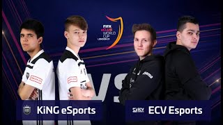 FIFA 19 KiNG F2Tekkz/KiNG NICOLAS99FC VS ECV Prohunter/ECV Renzo eClub World Cup