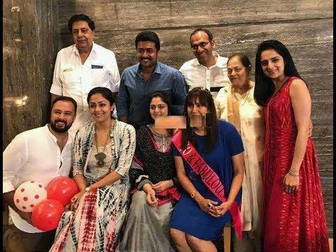 Jyothika Surya Family Latest Video - Suriya Jyothika - YouTube