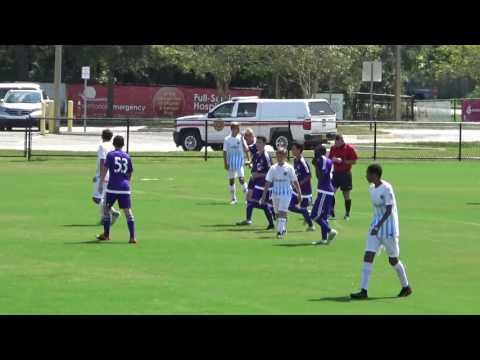 OCDA U14 vs Jacksonville Armada DA 9 24 16