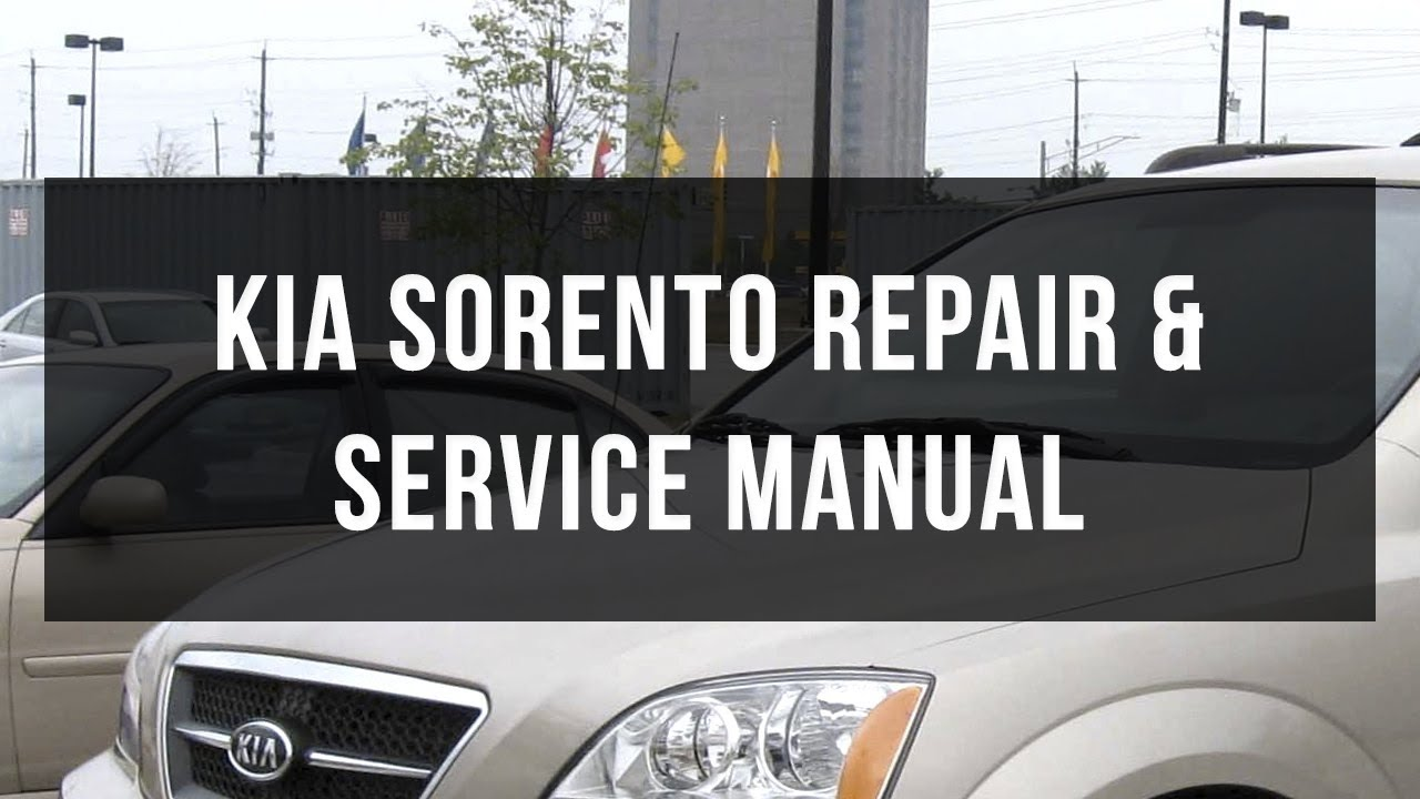 download kia sorento body service and repair manual youtube rh youtube com Veloster Turbo Manual