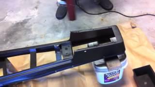 1970 Mustang Floor Console Restoration