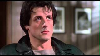 Rocky (1976): Rocky accepts the fight with Apollo Creed
