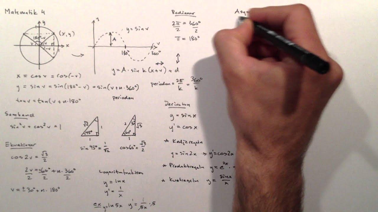Matematik 4 på 20 minuter