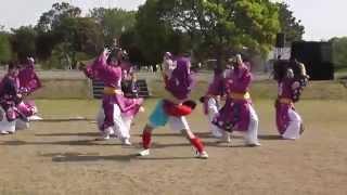 ふくこいまつりinうみなか2014 ふくこい踊り隊