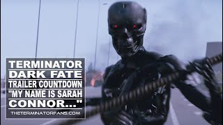 """TERMINATOR: DARK FATE - """"My Name Is SARAH CONNOR... I Changed The Future"""" TEASER"""