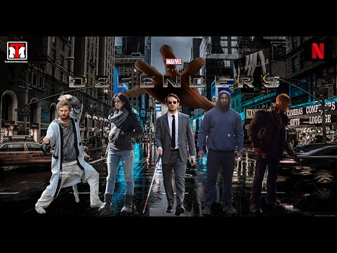 The Defenders:(2017) Trailer 'Audio Latino' (Serie Oficial de 'Netflix') ( 'Fan Made')