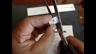 Como transformar um Chip SIM em MicroSim e NanoSim, sem cortador de SIM card!