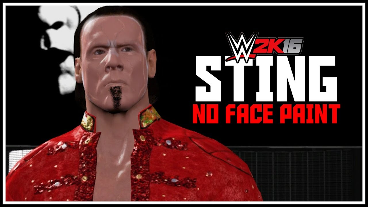 Tna Sting Without Face Paint