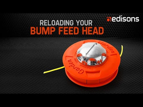 How to Reload Your Twister Bump Feed Head - Garden at Edisons
