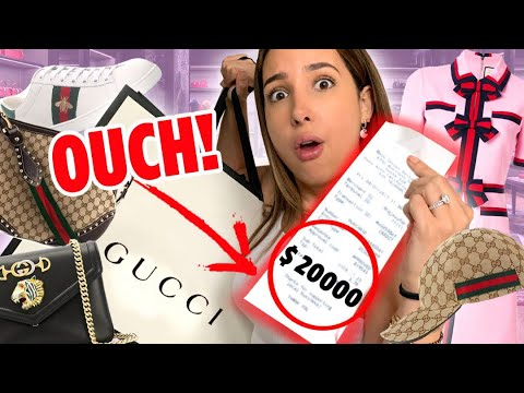 Letting The Person In Front Of Me DECIDE What I BUY At GUCCI | Mar