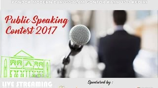 Download Video Live Streaming: Public Speaking Contest 2017 | PMDG Kampus 3 Kediri MP3 3GP MP4