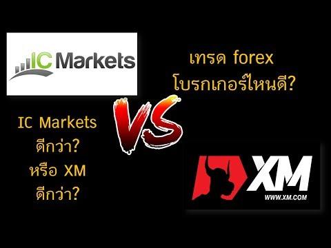 เทรด Forex กับโบรกเกอร์ IC Markets หรือ XM อันไหนดีกว่ากัน?