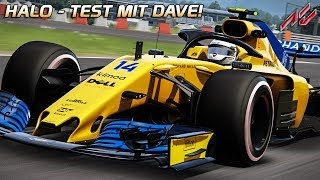 Was sieht man mit Halo? F1 Halo Test mit Dave   Assetto Corsa [VR] Formula Hybrid @ Red Bull Ring