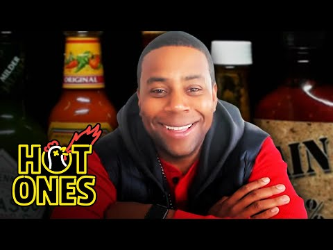 Kenan Thompson Becomes a Card-Carrying Spiceman While Eating Spicy Wings | Hot Ones - First We Feast