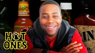 Kenan Thompson Becomes a Card-Carrying Spiceman While Eating Spicy Wings | Hot Ones