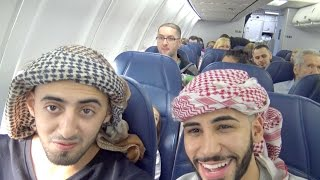 ARABS ON A PLANE!!