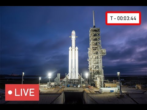 WATCH NOW: SpaceX to Launch Falcon Heavy Rocket at Kennedy Space Center #SpaceX, 5:45pm