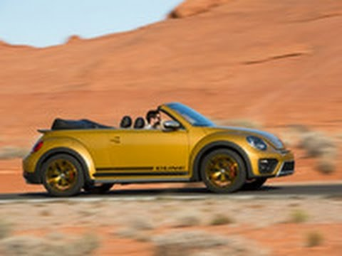 Real World Test Drive VW Beetle Dune Convertible 2016