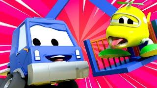 Zug für Kinder -  Das große Geheimnis  - Troy der Zug in Car City