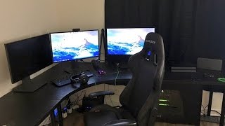 EPIC NEW GAMING SET UP!