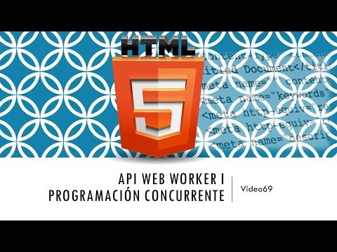Curso HTML 5  API Web Worker I  Vídeo 69