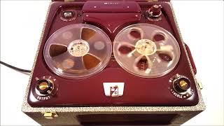 1953 Webcor Magnetophone reel-to-reel