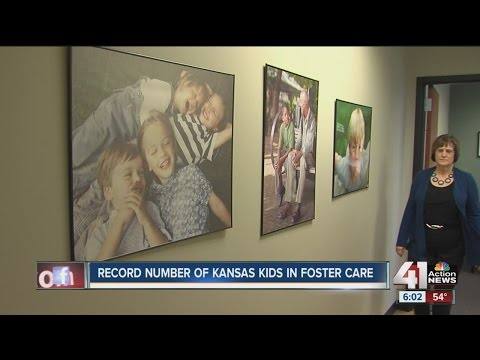High Number Of Children In Kansas Foster Care