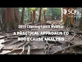 2015 March Learning Lunch:  A Practical Approach to Root Cause Analysis