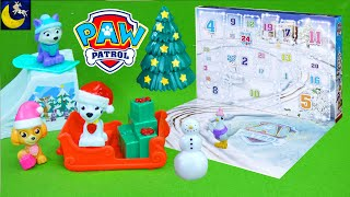 Paw Patrol Surprise Toys Christmas Advent Calendar for Kids 2019 Unboxing Reveal Count Down Video