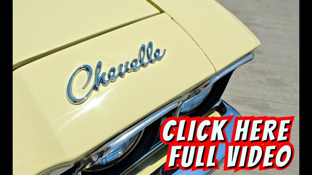1969 Chevrolet Chevelle 396 SS [Butternut Yellow]