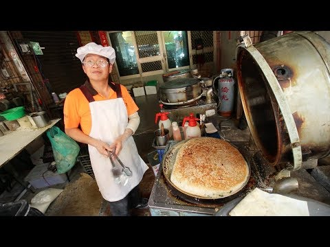 TAIWAN PIZZA - Street Food Tour of RURAL Taiwanese Market | BEST Traditional Market - Chiayi, Taiwan
