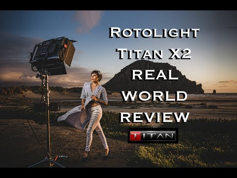 Rotolight Titan X2 Full Hands On Real World Review by Jason Lanier