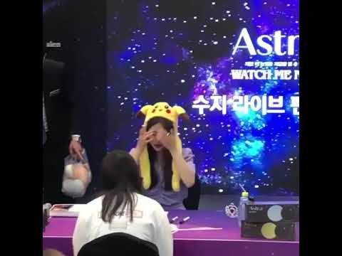 배수지 190613 Suzy at Clalen Fansign event