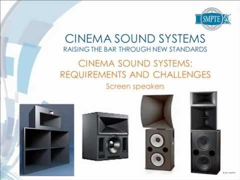 SMPTE Standards Update Webcast: Cinema Sound Systems