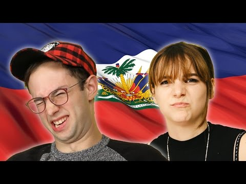 Americans Try Haitian Food For The First Time