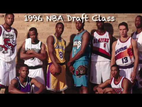 NBA Draft 1996 - 20 Anniversary Special : Players Career Highlight ft. AI, Kobe Nash etc